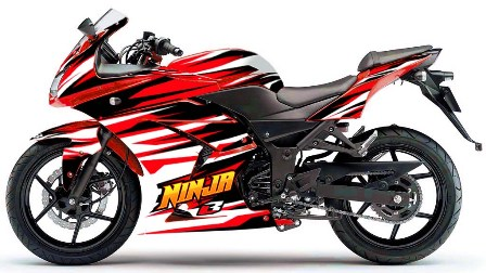 Usaha Cutting Sticker & Ninja 250